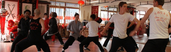 Banner Kung fu